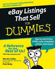 eBay Listings That Sell For Dummies by Marsha Collier, Patti Louise Ruby (Paperback, 2006)