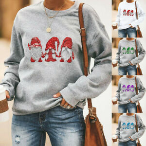 Womens-Long-Sleeve-Christmas-Pullover-Sweater-Tops-Xmas-Casual-Jumper-Blouse-UK