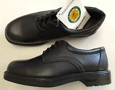 Men's Deer Stags Shipley Plain Toe Oxford, Size: 9.5 M, Black Simulated Leather