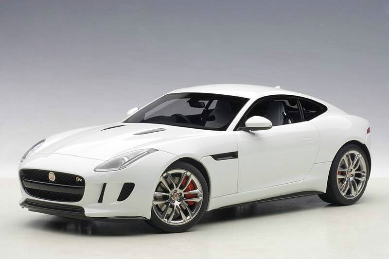 1 18 AUTOart 2015 JAGUAR F-TYPE R COUPE (POLARIS Weiß)  | Authentisch