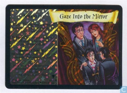 Harry Potter TCG Quidditch Cup Gaze Into The Mirror FOIL 6//80