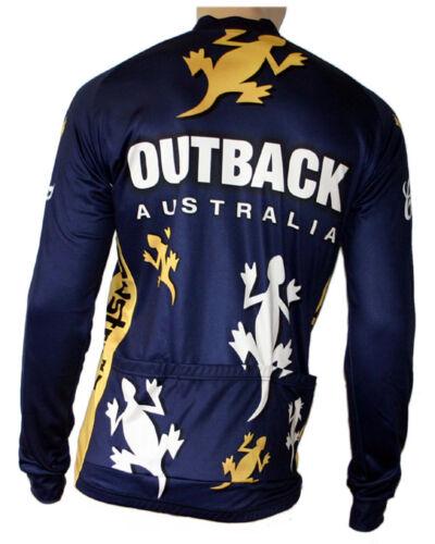 aussi grandes tailles jusqu/'à 6xl Radtrikot skaide Australia Outback manches longues