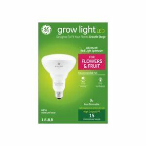 Grow by GE - Grow Light LED 9w BR30 Indoor - Flower/Fruit Spectrum