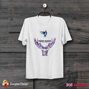 Imagine-Dragons-I-Bet-My-Life-ideal-Gift-Vintage-Retro-CooL-UNISEX-T-Shirt-B452