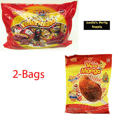 Gentle 2-pack Vero Mango & Vero Rellerindos 105-pcs Mexican Candy Ture 100% Guarantee Other Candy, Gum & Chocolate