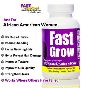 fast grow vitamins for hair growth for african american