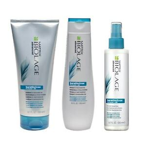 Matrix-Biolage-Keratindose-Shampoo-250ml-Conditioner-200ml-amp-Renewal-Spray