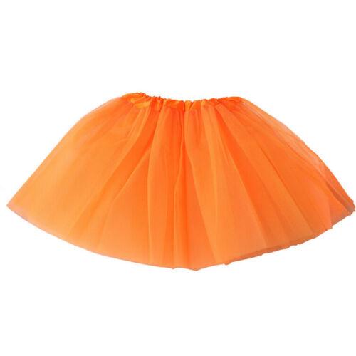 Mädchen-Ballettröckchen-Ballett-Rock-Tulle-Kostüm-feenhafte Partei ZP