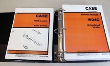 Case W24c Articulated Loader Service Manual Parts Catalog Repair Shop Technical