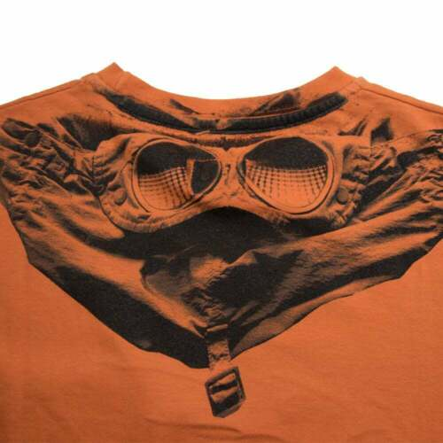 CP Company undersixteen Goggle T-shirt orange