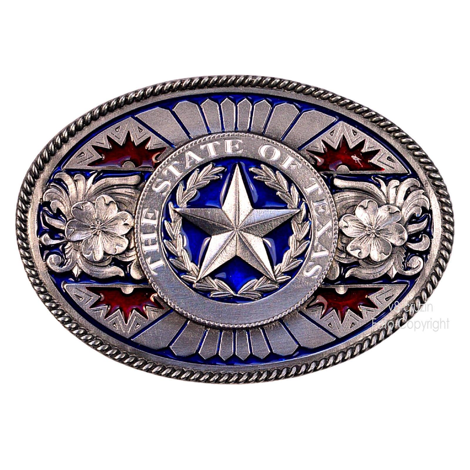US Texas State Gürtelschnalle Star Belt Cowboy Western Country Buckle *467