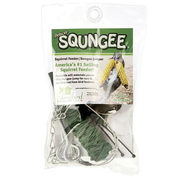 SQUNGEE DELUXE SQUIRREL FEEDER BUNGEE CORD SPIN,BOUNCE,TWIRL AND DANCE for sale online | eBay