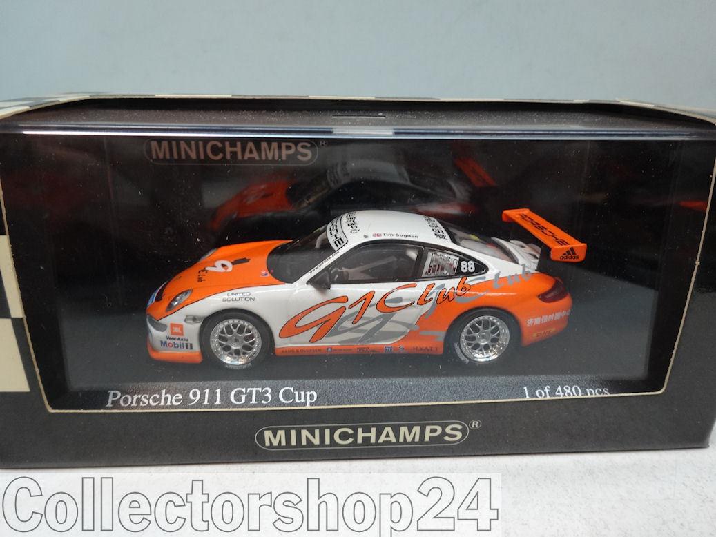 Minichamps   PORSCHE 911 GT3 CUP - TIM SUGDEN  - 400076488