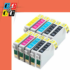 10 CARTUCCE COMPATIBILI PER EPSON STYLUS OFFICE BX300F  B40W DX9400F CON CHIP