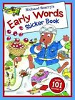 Richard Scarry - Early Words Sticker Book by Richard Scarry (Paperback, 2014)