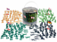 Big Bucket of Army Soldiers WWII Over 200 Piece Set Army Men Action Figures