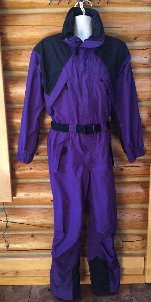 HELLY HANSEN Purple Unisex Fullbody Winter Snow  Suit Size XS  discount