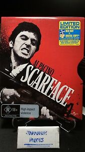 Scarface-Limited-Collector-039-s-Metal-Slip-case-not-steelbook
