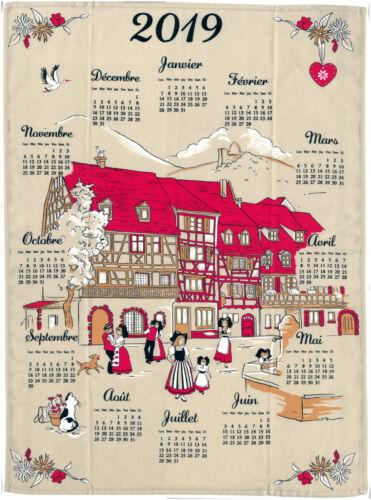 Village Torchon calendrier 2019