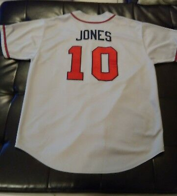 timeless design 940a5 ef595 Atlanta Braves Chipper Jones jersey Size XL *excellent condition* | eBay
