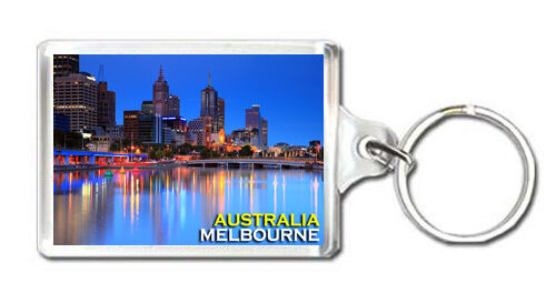 MELBOURNE AUSTRALIA MOD3 KEYRING SOUVENIR LLAVERO