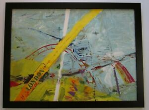MYSTERY-ARTIST-SIGNED-ABSTRACT-EXPRESSIONIST-PAINTING-MODERNISM-NEW-YORK-ART