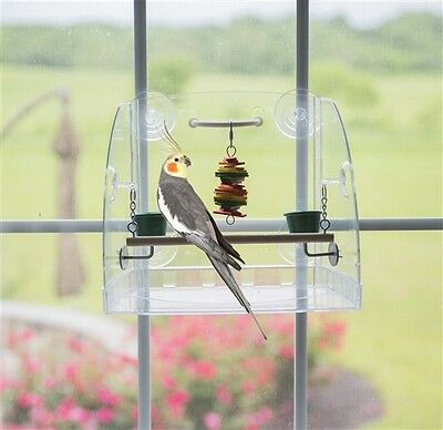 50013 Caitec Window Play Center parrot bird cages toy toys Cockatiels Parakeet