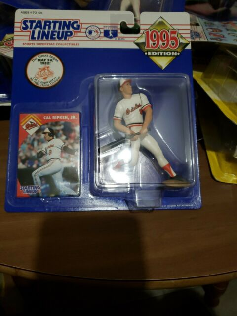 CAL RIPKEN JR. 1995 Starting Lineup figure - home uniform - NEW - Orioles #8