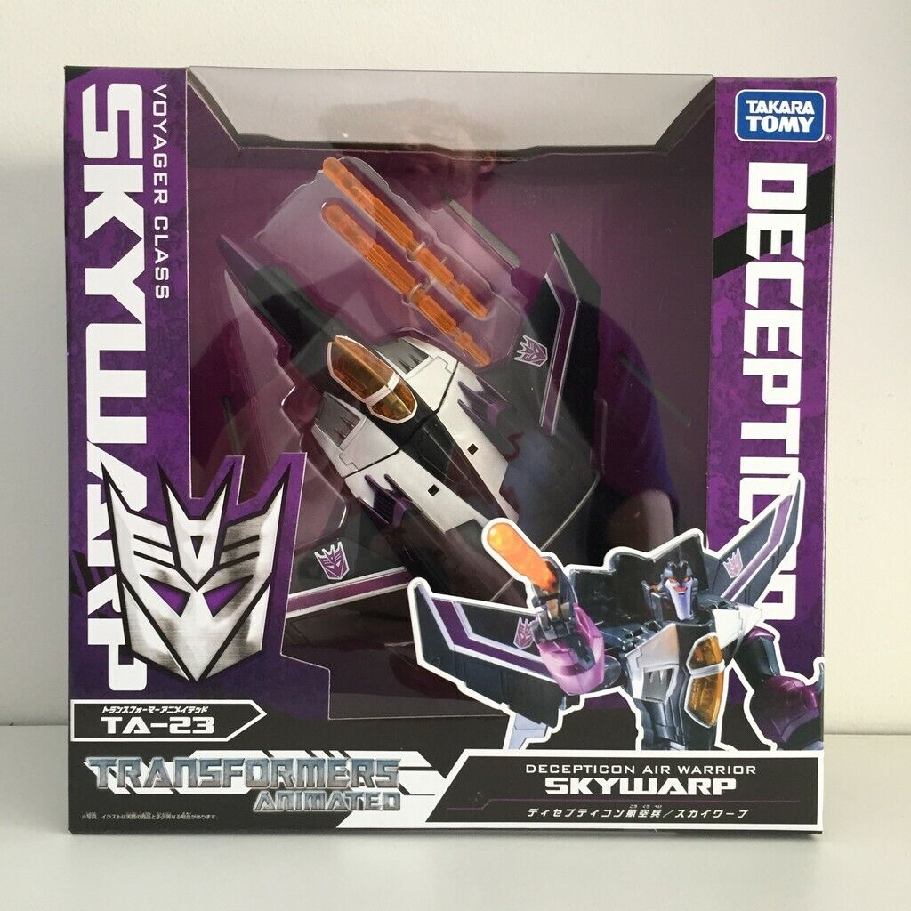 [NUOVO IN SCATOLA] Takara Transformers ANIMATED TA23 cielowarp voyager classe