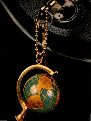 "1967 Ford Mercury Key Chain Around The World Original Print Ad 8.5 x 11/"""