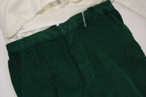 Petit Ami Outfit Boys 3T Shirt Top Green Pants 2PC Great for Monogramming NEW