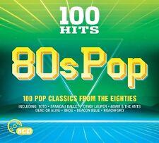 100 HITS - 80S POP (ALICE COOPER/TOTO/EUROPE/KING/H2O/BROS/+)  5 CD NEU