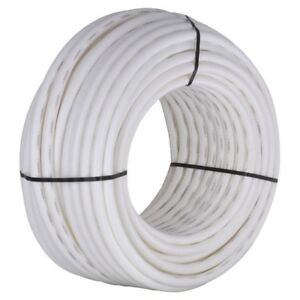 Details about 300 ft  White PEX Pipe 1 in Flexible Water Supply Tubing  Durable Underground Use