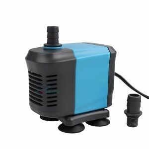 400 1455 gph submersible water pond pump aquarium fish for Best rated pond pumps