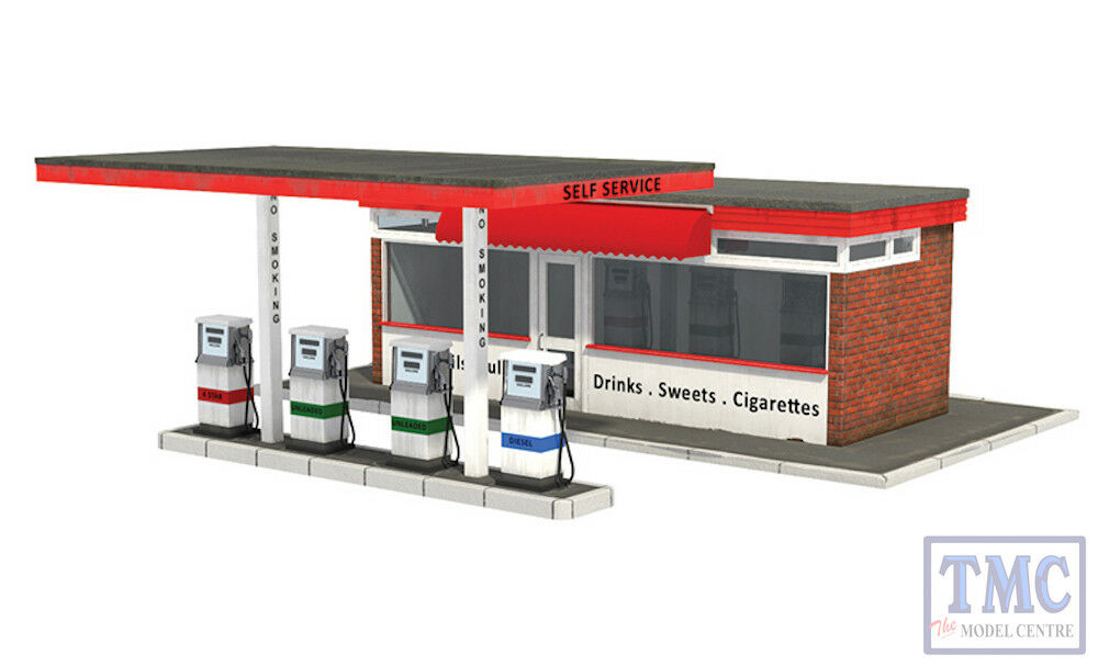 44-0077 OO Gauge Scenecraft Filling Station