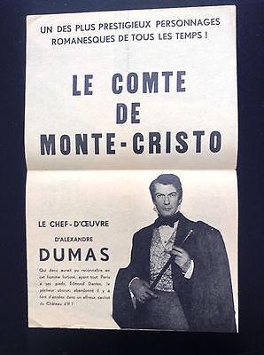PHOTO JEAN MARAIS LE COMTE DE MONTE-CRISTO 11X15 CM  # 8