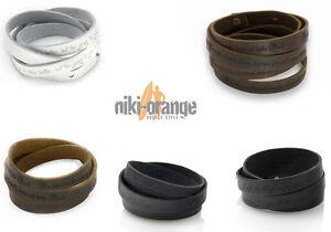 Niki-orange® Gravur Armband Leder Individuell Graviert Reichhaltiges Angebot Und Schnelle Lieferung