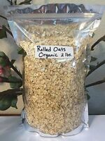 Rolled Oats, Organic 2lbs -buy 3 Items- Get Thyme Oregano Rosemary Or Basil Free