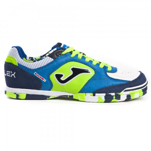 zapatos DA CALCETTO DA ADULTO JOMA TOP FLEX 805 ROYAL INDOOR calcio a 5 futsal