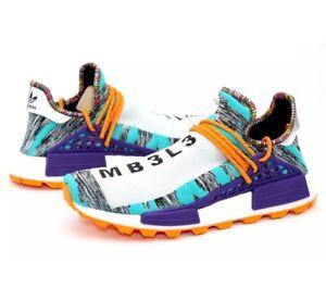 e776f646c8f0 NEW Adidas Pharrell Williams NMD Human Race Solar Pack HU - Size 9 ...