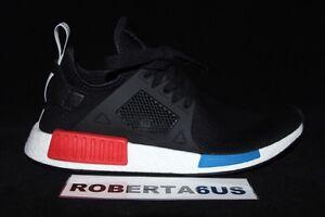 Adidas-Men-NMD-XR1-Primeknit-PK-OG-Black-Blue-Red-BY1909