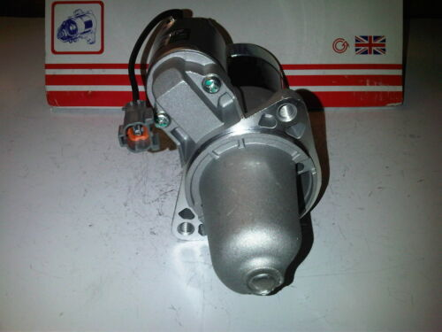 TO FIT NISSAN PRIMERA P12 2.0 16V PETROL BRAND NEW STARTER MOTOR 2002-onwards