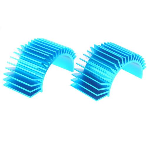 2PCS RC HSP 03320 Blue Aluminum 540//550 Motor Heat Sink For 1:10 Car Buggy Truck