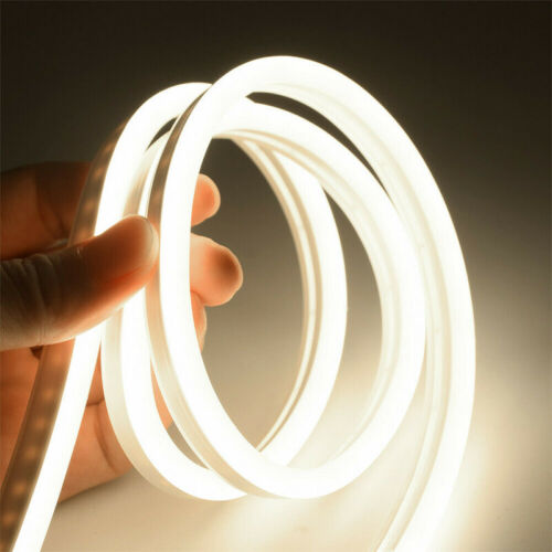 12V Flexible LED Strip Waterproof Sign Neon Light Silicone Tube 1M 3M 5M Lamp