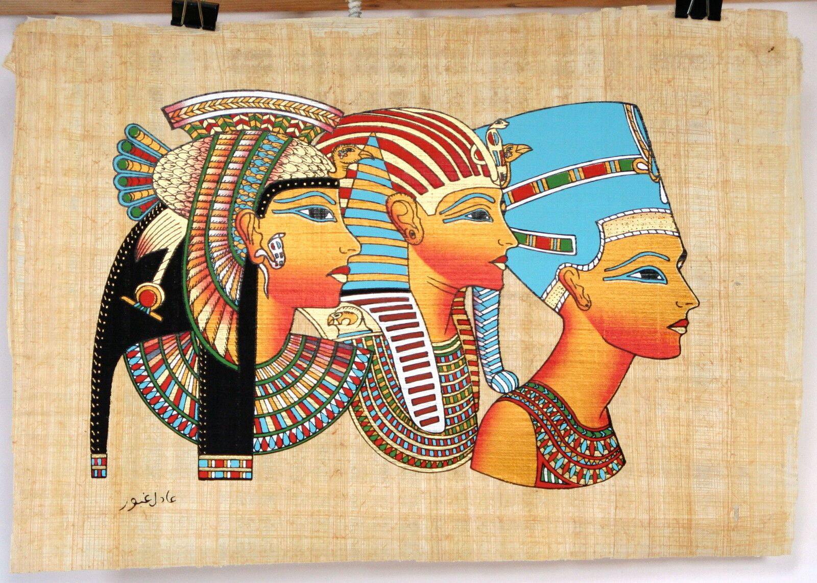 Egyptian Papyrus Hand Made 9 X 13 Ancient Art Cleopatra Tut ...