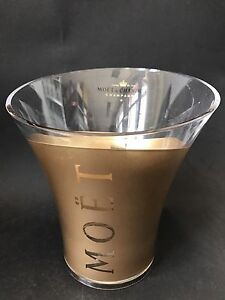 Sammeln & Seltenes Moët Chandon Imperial Gold Champagner Kühler Ice Bucket Acryl Deko