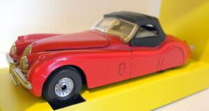 Corgi-Diecast-Escala-1-32-803-Jaguar-XK120-Roadster-Rojo