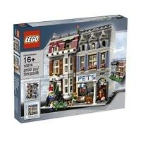 Lego Pet Shop 10218 Modular Building Store Townhouse House Minifigures