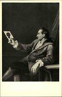 Frankfurt am Main Ansichtskarte ~1930 Goethehaus Bild von Goethe 27 Jahre alt