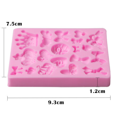 1xButterfly Bow-Knot Insect Bug Silicone Mold Flexible for Resin Craft Chocolate